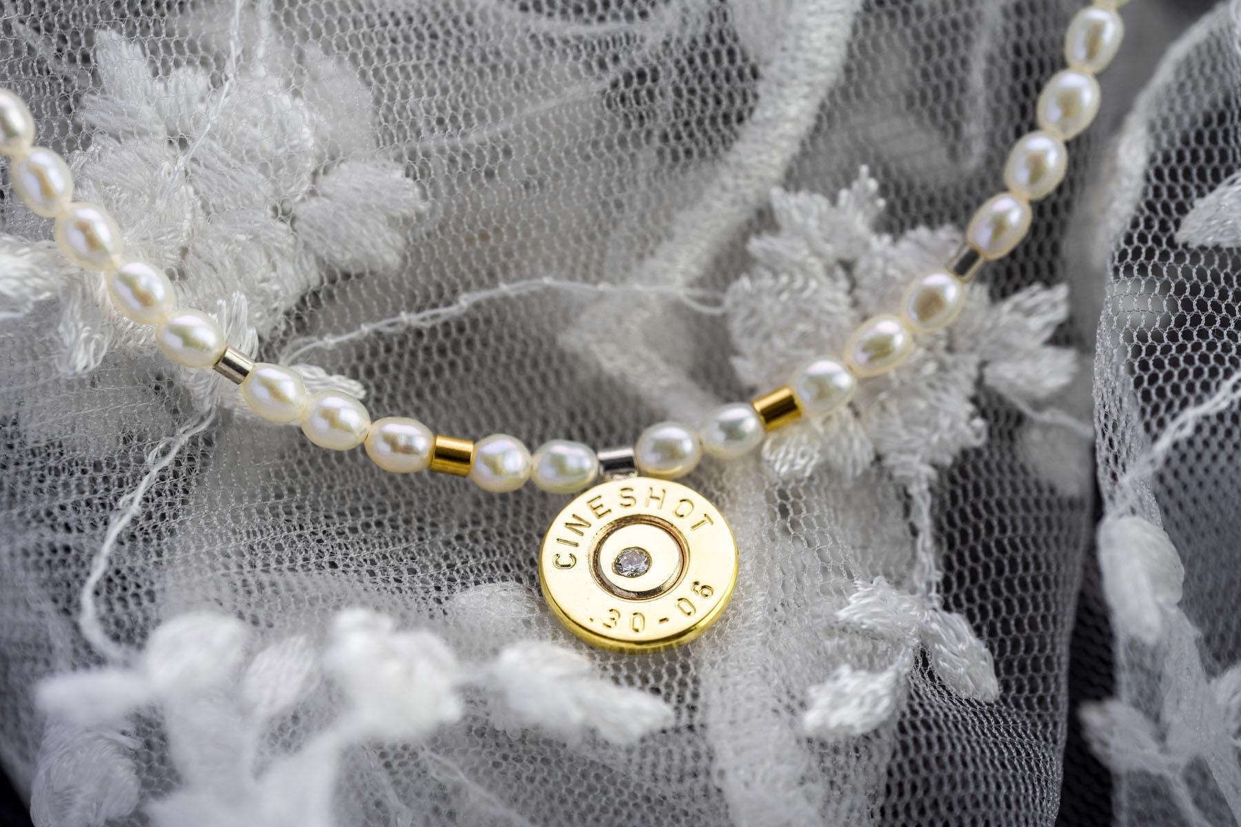 Perlenkette - Cartouche Schmuck von Goldschmiedin Christa Pistorius
